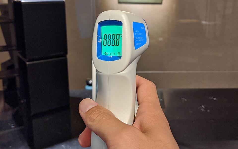 【非接触型体温計】