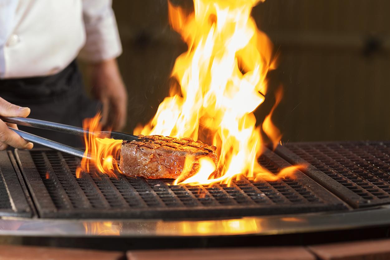 薪焼きステーキ
